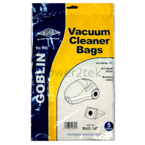 10 x 72 Vacuum Bags for Vax Mojo 2 V-02 V-002 Hoover UK