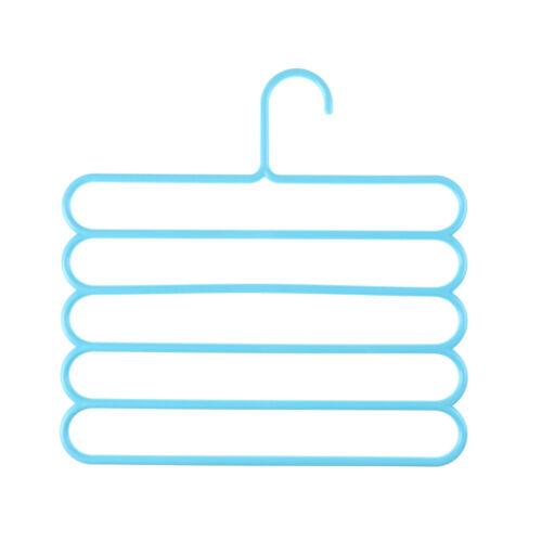 Platzsparender multifunktionaler Anti-Rutsch-Kleiderbügel mit fünf Schichte CBL