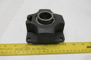 """HK Systems Double Bearing 1-3//16/""""Bore 4 Bolt Flange Pillow Block"""