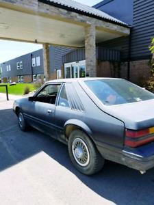 1984 Mustang