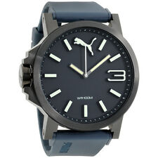 Puma Ultrasize Blue Dial Silicone Strap Men's Watch PU103461005