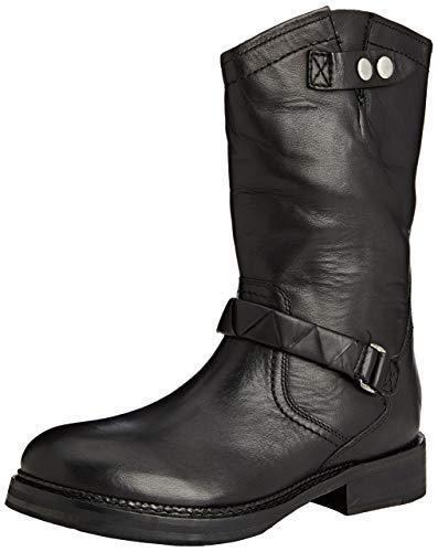 41 Éclair Noir Chaussures Hudson Cuir Motard Fermeture 8 Pour H Randonnée De By Cq1wOXtC7