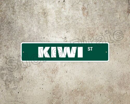 "*Aluminum* Kiwi 4/"" x 18/"" Metal Novelty Street Sign  SS 2213"
