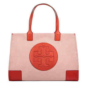 3357095be4d0 Image is loading Tory-Burch-Ella-Canvas-Tote-45209-800