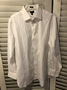 c790021d37d7 NWT J Crew Ludlow Stretch Two-Ply Easy Care Cotton Dress Shirt White ...