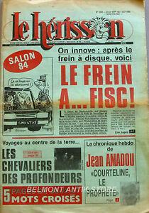 Marius L'épatant Le Hérisson N°2006 - 1984 - Le Salon De L'auto - Gabarit -