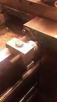 Micrometer Carriage Stop For 12 Grizzly, Harbor Freight Lathe, Free Shipping