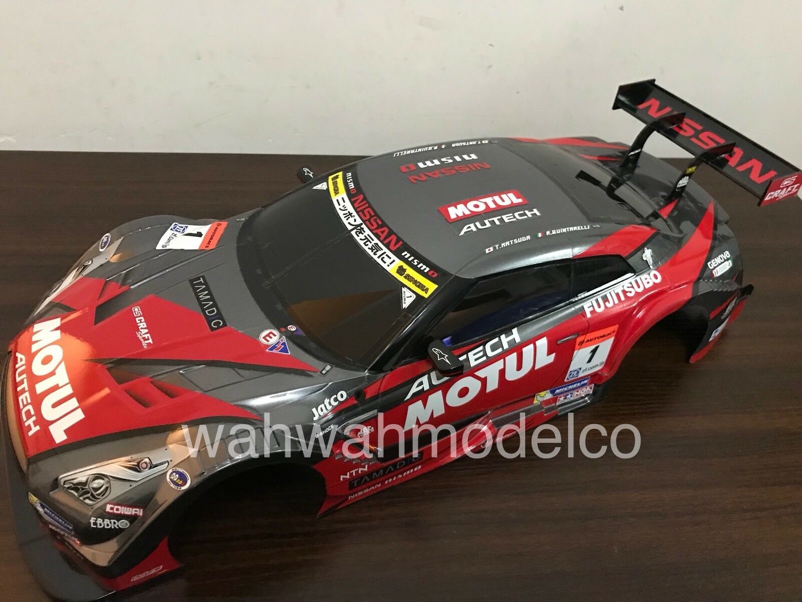 Tamiya 1/10 RC Body Set Motul Autech GT-R  Assembled Body for 57892 58625 51584