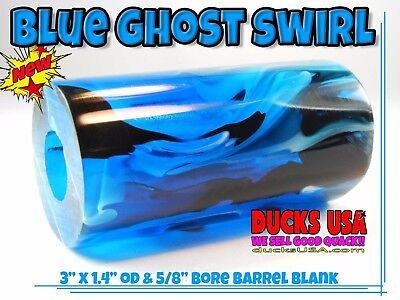 "Duck Call Acrylic STARS /& STRIPES EXOTIC SWIRL 2.75/"" x 1.4/"" OD /& Bore Sweet!!"