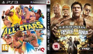 Wwe Legends Of Wrestlemania Wwe All Stars Ps3 Pal Ebay