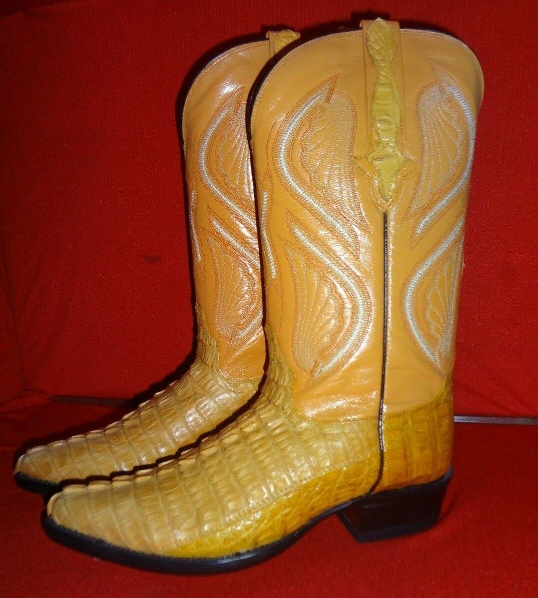 Exotic  CAIMAN  Western Cowboy Stiefel By RODEO BRAVO  (008)