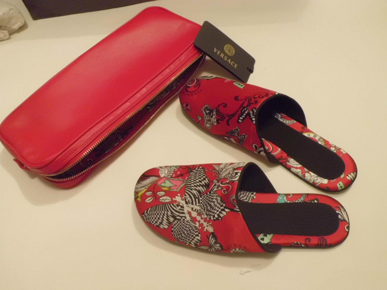 Authentic  Versace Beauty Vitello + Pantofole Pantofole Pantofole seta Tg  440,00  forma única
