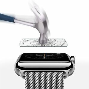 1x Apple Watch Series 3, 42 Mm écran En Verre Trempé Protecteur-afficher Le Titre D'origine