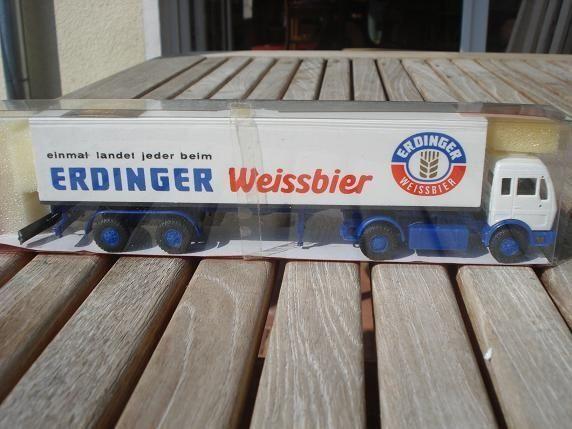 Roskopf 508 MERCEDES BENZ Weissbier 1217 Erdinger Weissbier BENZ scatola originale 1d66d5