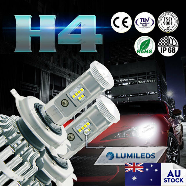 2X 9003 HB2 H4 LED Headlight Kit Bulbs for Ford Laser LTD Ranger High Low Beam