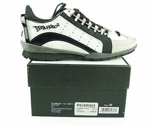 Details about DSQUARED ² Sneakers 551 $320 Men Man Shoes Herrenschuhe Shoes 100% AUT show original title