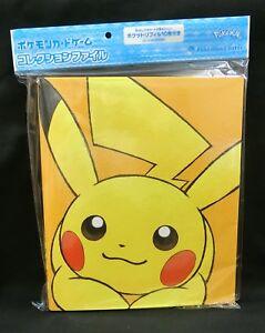 Pokemon Card Sun And Moon 9 Pocket File Binder Pikachu And Eevee Japanese Ebay