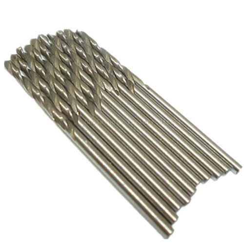10pcs 2mm Hss High Speed Steel Twist Drill Bit Metric Steel Mini Micro Drill Bit