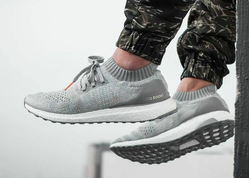 Adidas Ultra Boost Uncaged size 11.5. Grey Multicolor. BB4489. primeknit pk nmd
