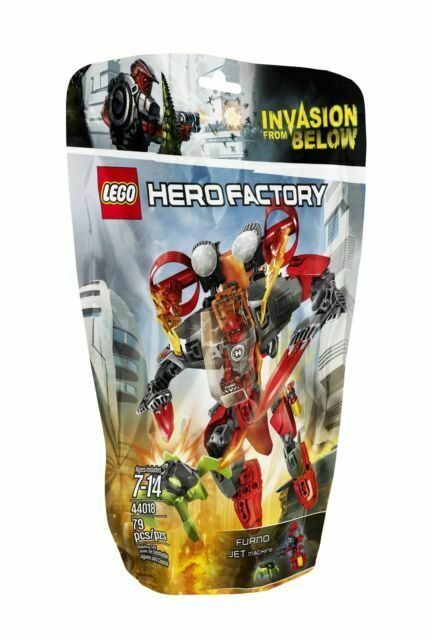 LEGO Hero Factory 44018 FURNO Jet Machine Brand New and Factory Sealed