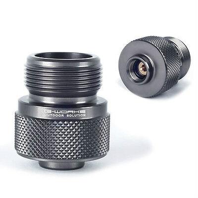 New G Works EPI Gas Adapter Duralumin Ultralight 45g LPG Device to Use Butane