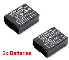 2 x batería para PANASONIC Lumix DMC-G6W DMC G6X 1000mAh batería de la cámara
