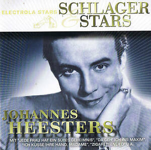 JOHANNES-HEESTERS-034-Schlager-amp-Stars-034-21-Tracks-CD-NEU-amp-OVP-Capitol-EMI-2009