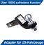 Anhängerkupplung Adapter für US-Fahrzeuge Standard 50x50mm AHK Für Nissan Juke