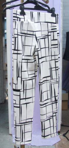 neri Bnwt 10 pantaloni Favoloso attillati bianchi 8 Us e Lyman Canada Frank zqOxTE4