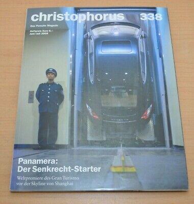 Porsche Christophorus Nr. 338 Magazin 06/09 Panamera Boxster Quell Sommer Durst