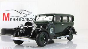 Coche-escala-1-43-Leningrado-1-L-1-Verde
