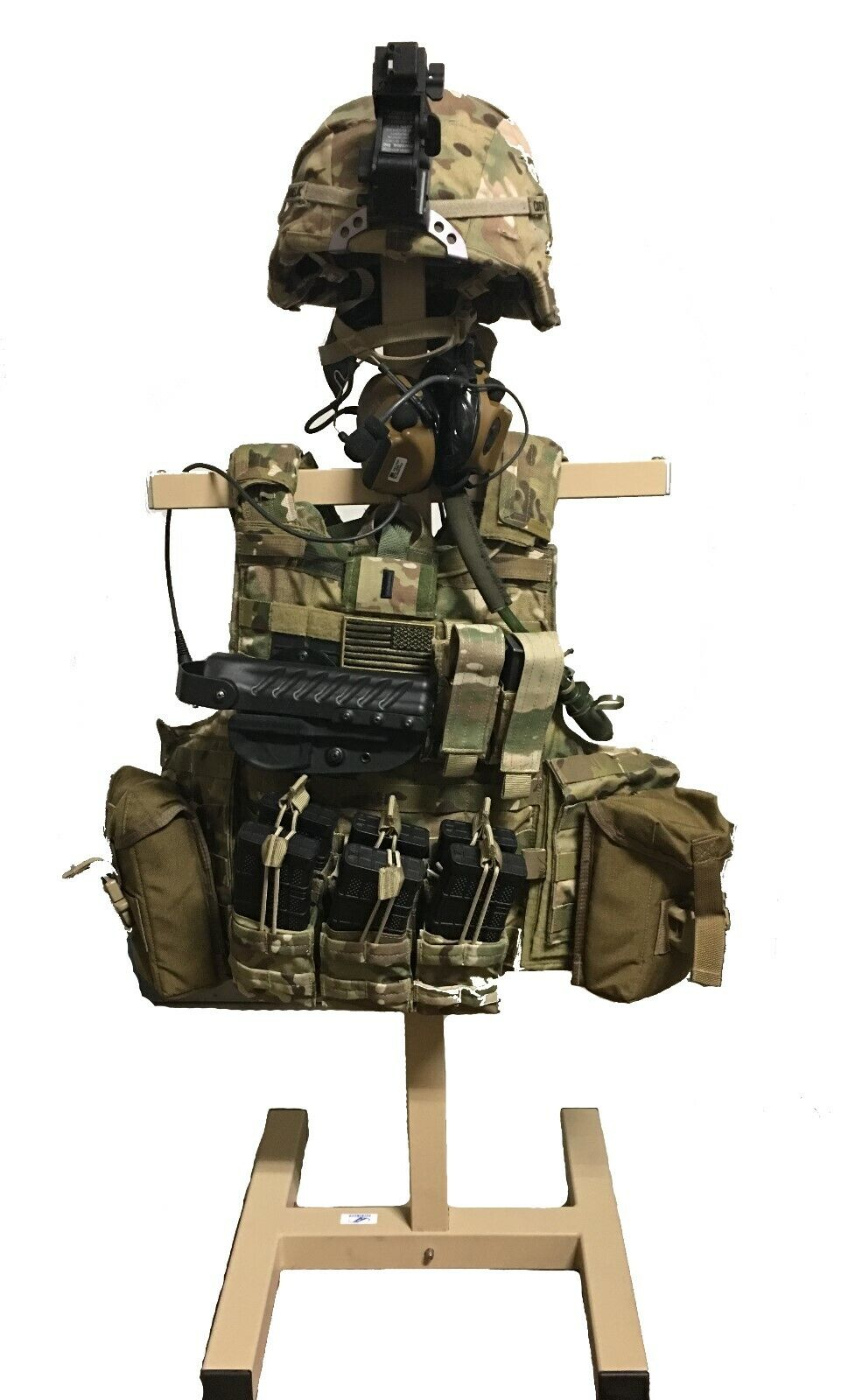 BattleReady Military and Law Enforcement Tactical  Heavy Duty Gear Stand USA MADE  looking for sales agent