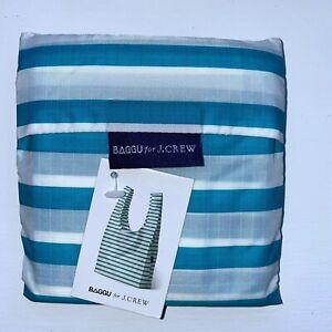 NWT Discontinued Pattern BAGGU POOL STRIPE Standard Size Reusable Bag