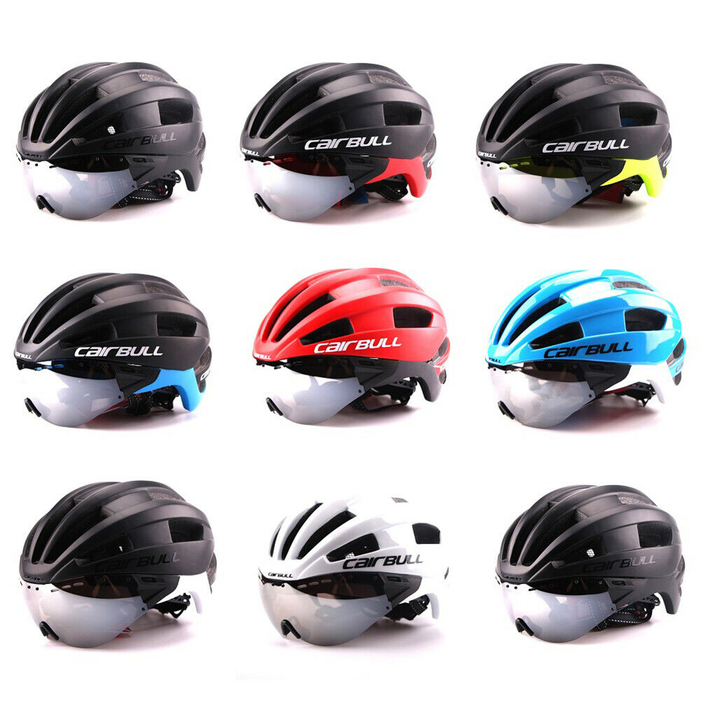 ALS_ Breathable MTB Mountain strada Bike Bicycle Cycling Safety Helmet with Goggle