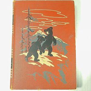 VTG-1949-Childcraft-Book-Vol-4-Animal-Friends-and-Adventures-Orange-Hardcover