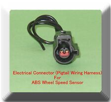 female electrical connector pigtail wiring harness of abs wheel speed sensor