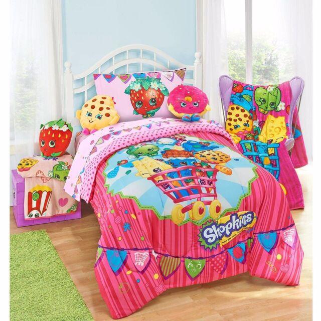 Shopkins Comforter Kids Twin Full Size Reversible ...