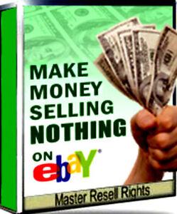 Make Money Without Selling Nothing Ebay