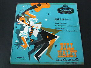 BILL-HALEY-AND-HIS-COMETS-EP-45T-7-034-LIVE-IT-UP-Vol-2-RARE-FRENCH