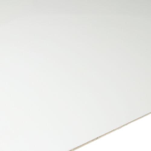 2mm Alublech weiß  RAL 9016 Aluminium Blech Alu Zuschnitt Wunschmaß Blitzversand