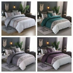 Floral-Duvet-Cover-for-Comforter-Queen-King-Size-Bedding-Set-Pillowcases-US
