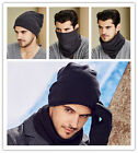 Unisex Men Women Hat Hip-Hop Wool Knitted hat Ski Cap Warm Winter Beanie Baggy