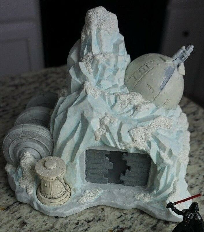 Hoth Hoth Hoth Rebel Base Star Wars Galactic Village Collection 7640bb