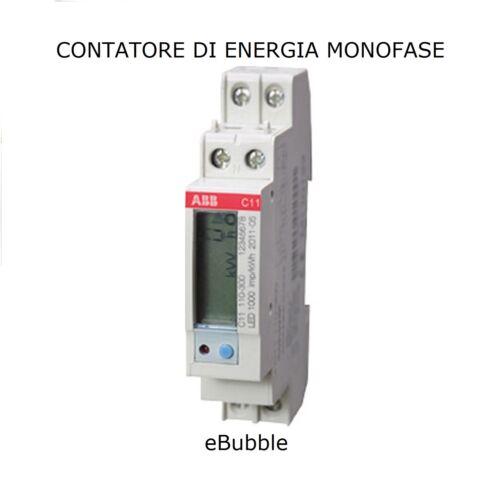 ABB C11 MID C111103 CONTATORE DI ENERGIA MONOFASE 40A