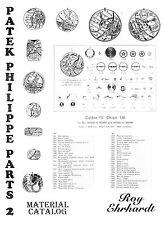 Roy Ehrhardt CD PDF PATEK PHILIPPE PARTS & MATERIAL CATALOG BOOK 2