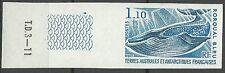 Taaf Fsat Baleine Rorqual Bleu Blue Whale Blauwal Non Dentele Imperf ** 1976