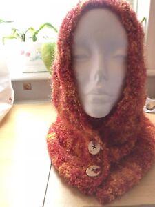 Sciarpa di lana con lavorazione a trama grossa Nappe Lunga A Maglia Caldo Tinta Unita Scialle LOUDelephant