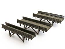 Modellbahn Union N-L00021 - Holzbrücke, 3er Set - Spur N - NEU