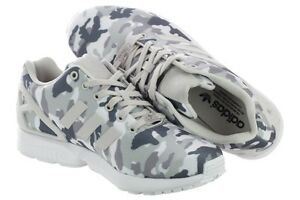 Details about ADIDAS ZX FLUX B24390 FTW White Pearl Grey Core MEN'S RUNNING SHOES SIZE 10