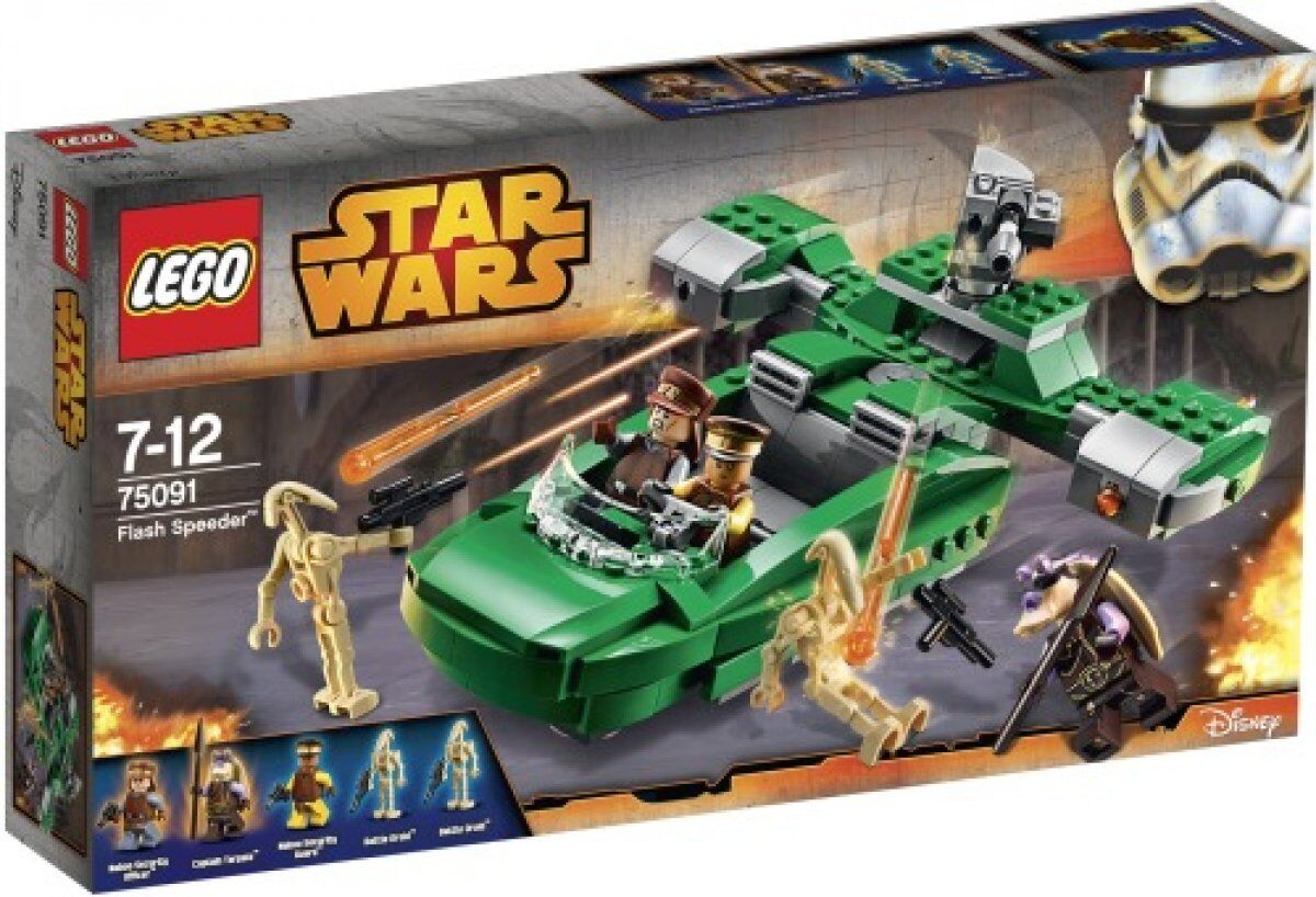 LEGO Star Wars Wars Wars 75091 Flash Speeder Neu & OVP 0a666a